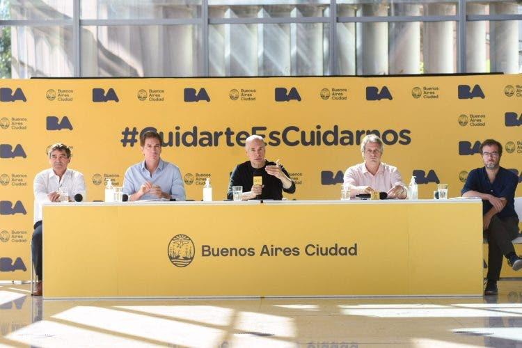 Coronavirus: Rodríguez Larreta desplazó a dos funcionarios por compras de la ciudad