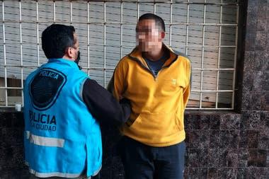 El sospechoso fue detenido 24 horas después de haber recuperado la libertad
