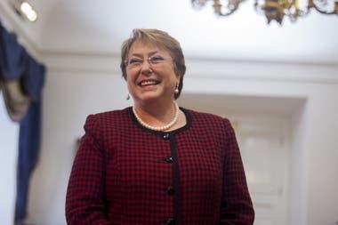 La Alta Comisionada para los Derechos Humanos de la ONU, Michelle Bachelet