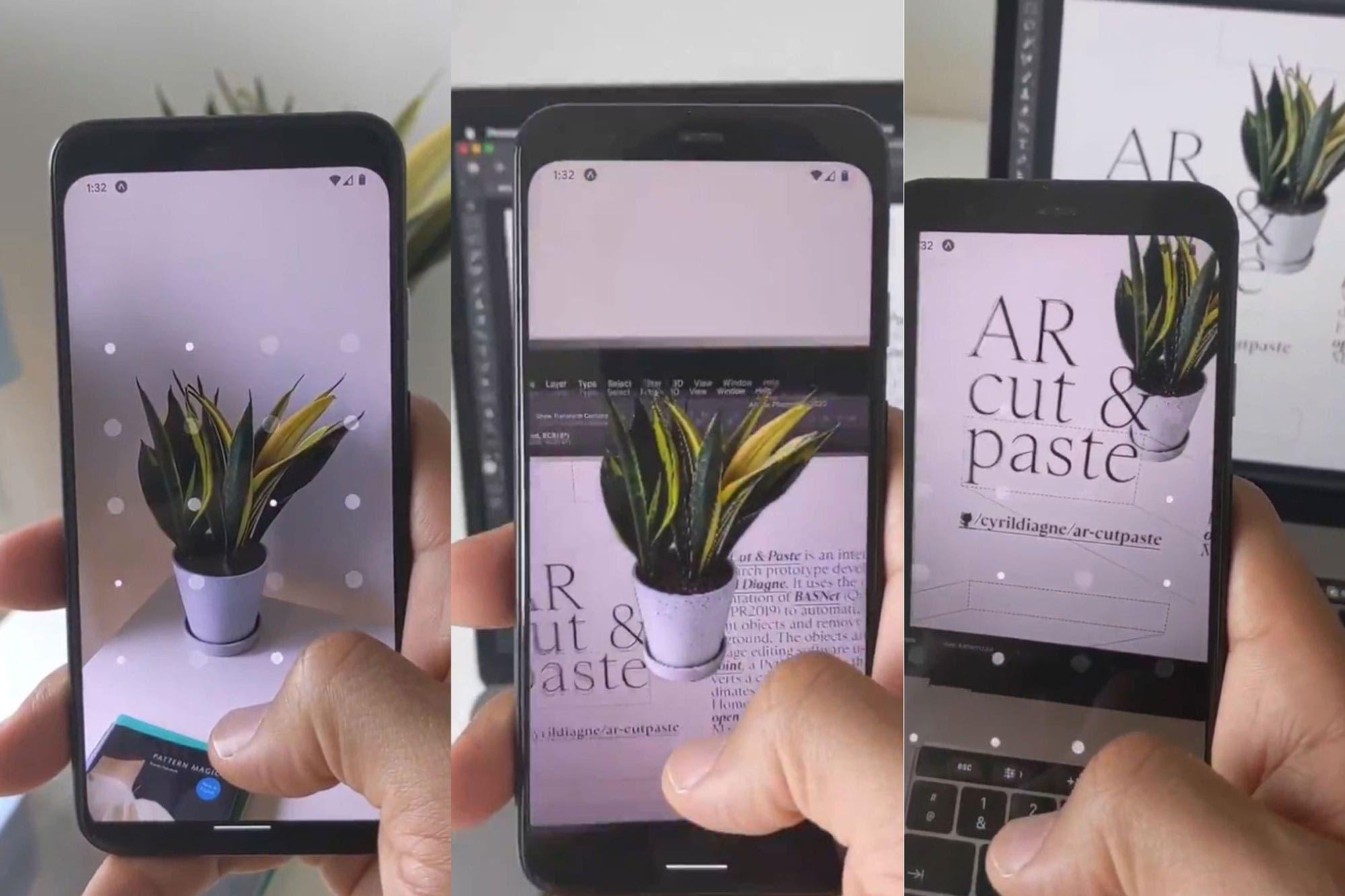 Cómo copiar y pegar objetos de la vida real en un documento con la cámara del celular