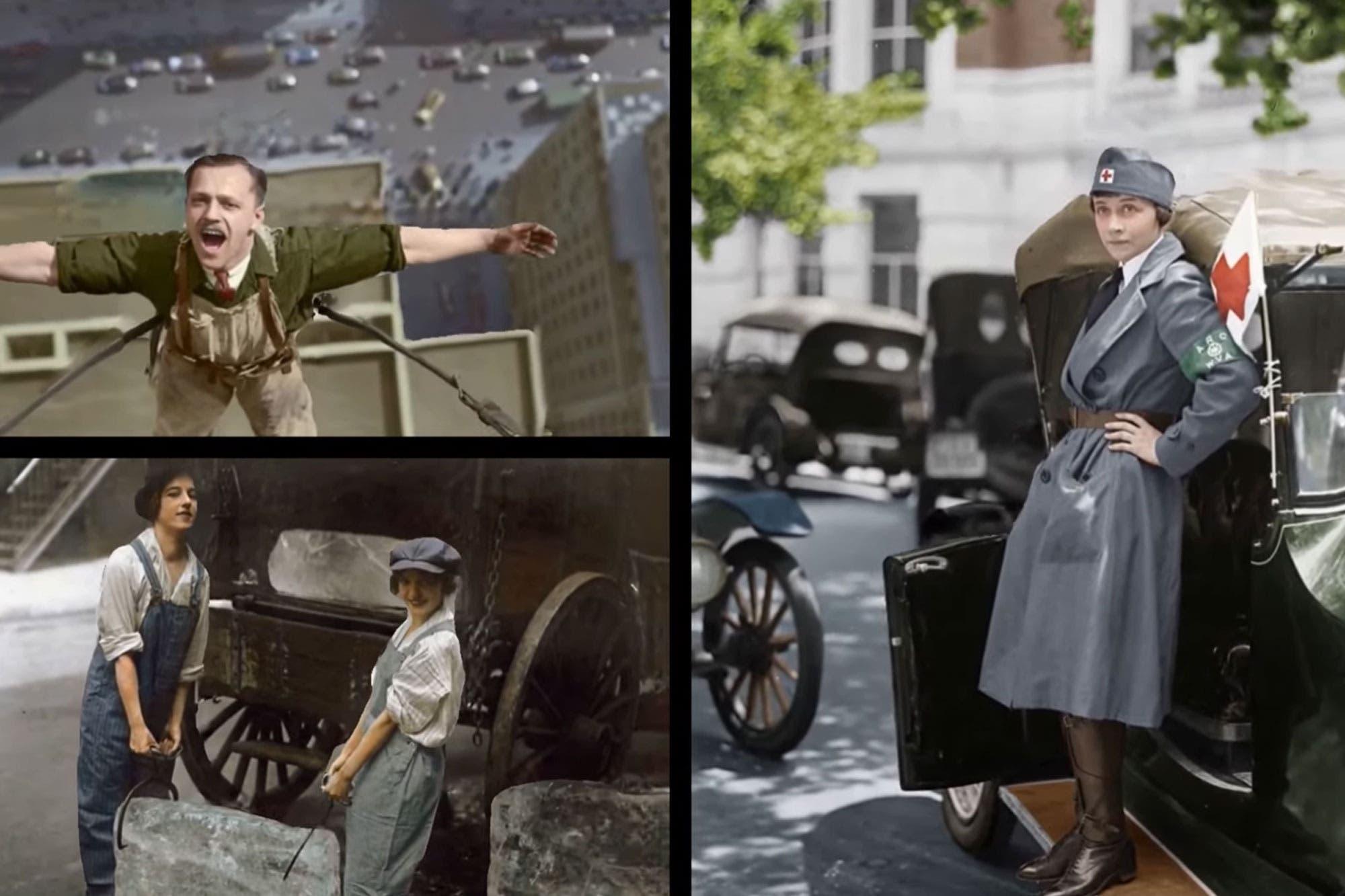 En 3D: así es el sorprendente retoque digital de fotos históricas con inteligencia artificial