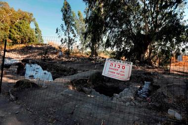 El sitio arqueológico El-Araj donde los investigadores Steven Notley y Mordechai Aviam aseguran que se encuentra Betsaida