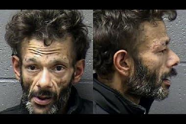 Shaun Weiss durante su detención a inicios del 2020