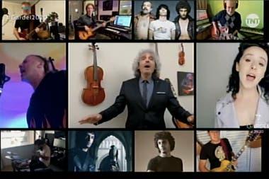 """El homenaje a """"Presente"""", de Vox Dei, uno de los 16 shows de los Premios Gardel 2020"""