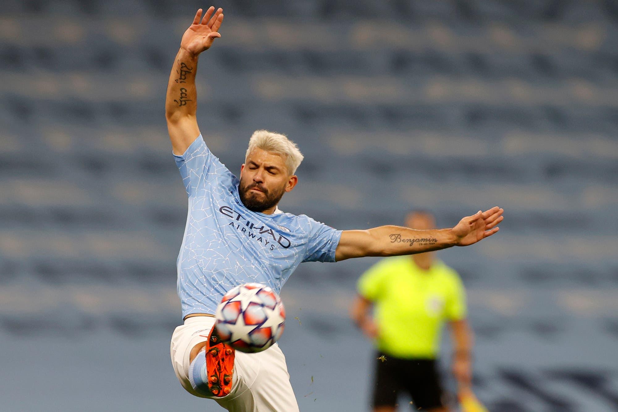 Champions League: Agüero volvió al gol después de 231 días y Manchester City venció 3-1 a Porto