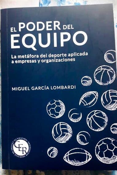 La portada del libro de Miguel García Lombardi