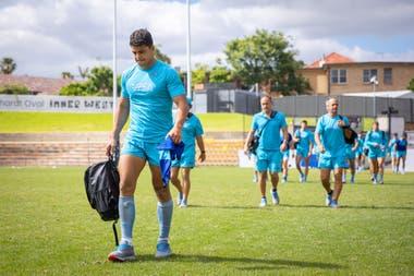 Santiago Chocobares se encuentra frente a la chance de hacer su debut absoluto en los Pumas