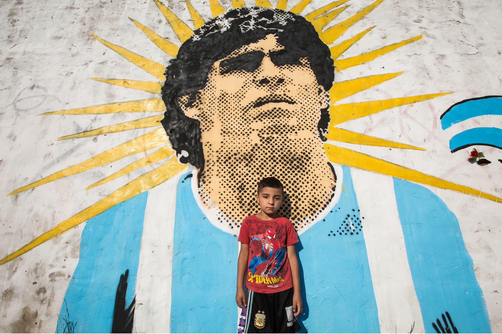 Mi Maradona, el que le habla a mi oído izquierdo