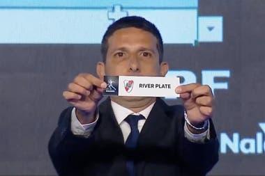 La bolilla de River: el equipo de Gallardo cayó en el mismo grupo que Boca
