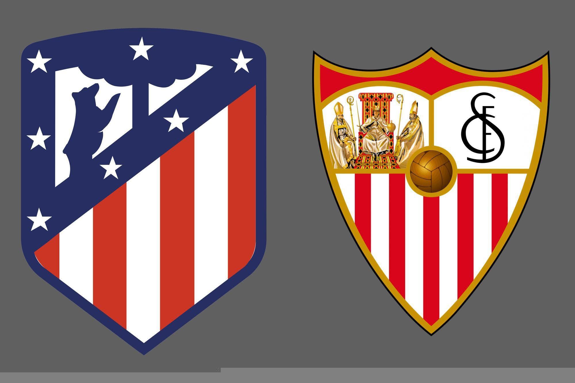Liga de España: Atlético de Madrid venció por 2-0 a Sevilla como local