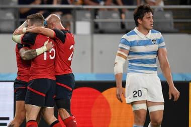 En el Mundial 2019, los Pumas cayeron ante Inglaterra en el tercer partido de la fase de grupos