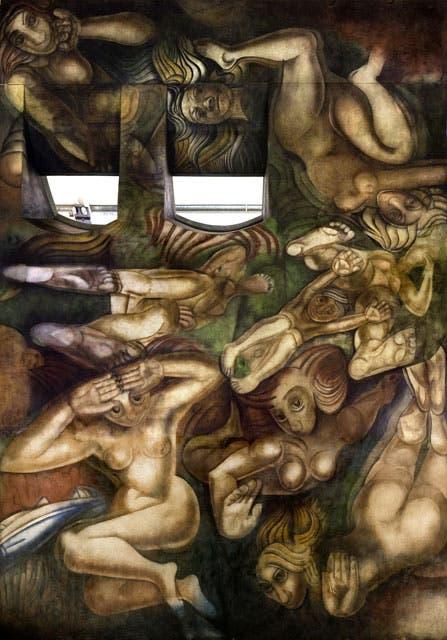 Mural De Siqueiros En La Aduana Taylor