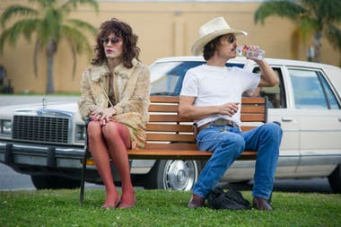 Jared Leto y Matthew McConaughey en Dallas Buyers Club