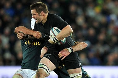 Los All Blacks tomaron revancha de los Springboks