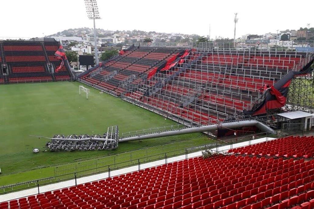 Flamengo piensa en cambiar la localía tras los destrozos en el estadio que eligió para enfrentar a River