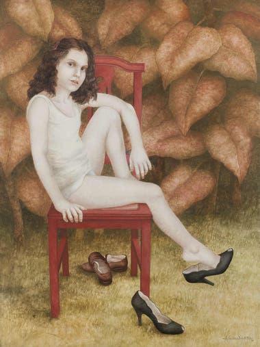 """Figura: Niña, de Alicia Carletti Esta ninfa identifica a la inolvidable creadora de """"Alicias en el país de las maravillas"""" y otros personajes de la literatura infantil, que falleció en julio pasado"""