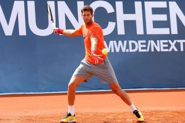 Del Potro jugará dos torneos antes de Roland Garros: el Masters 1000 de Madrid y el de Roma