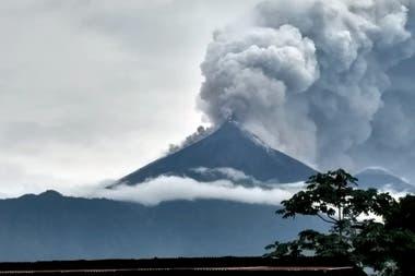El Volcán de Fuego es uno de los más activos de Centroamérica