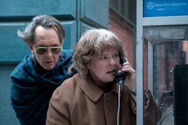 Nicole Holofcener y Jeff Whitty nominados por el guión de Can You Ever Forgive Me?