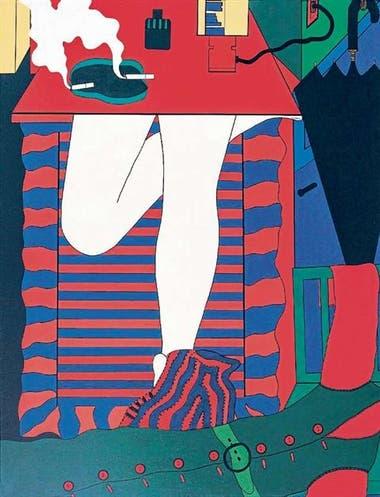 Wanda Pimentel. Serie Envolvimiento, 1968. Una de las obras guardadas en depósito. Colección Malba