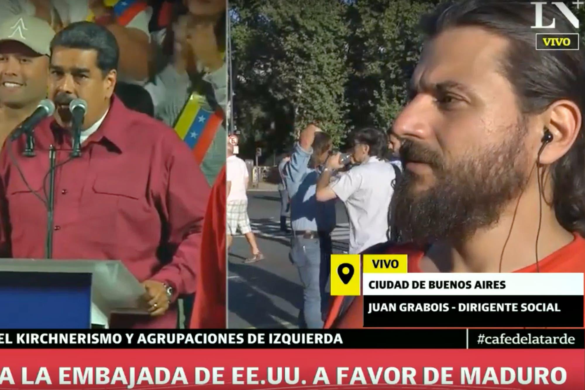 Fuerte cruce en la TV: Grabois se enojó cuando le preguntaron sobre la crisis en Venezuela