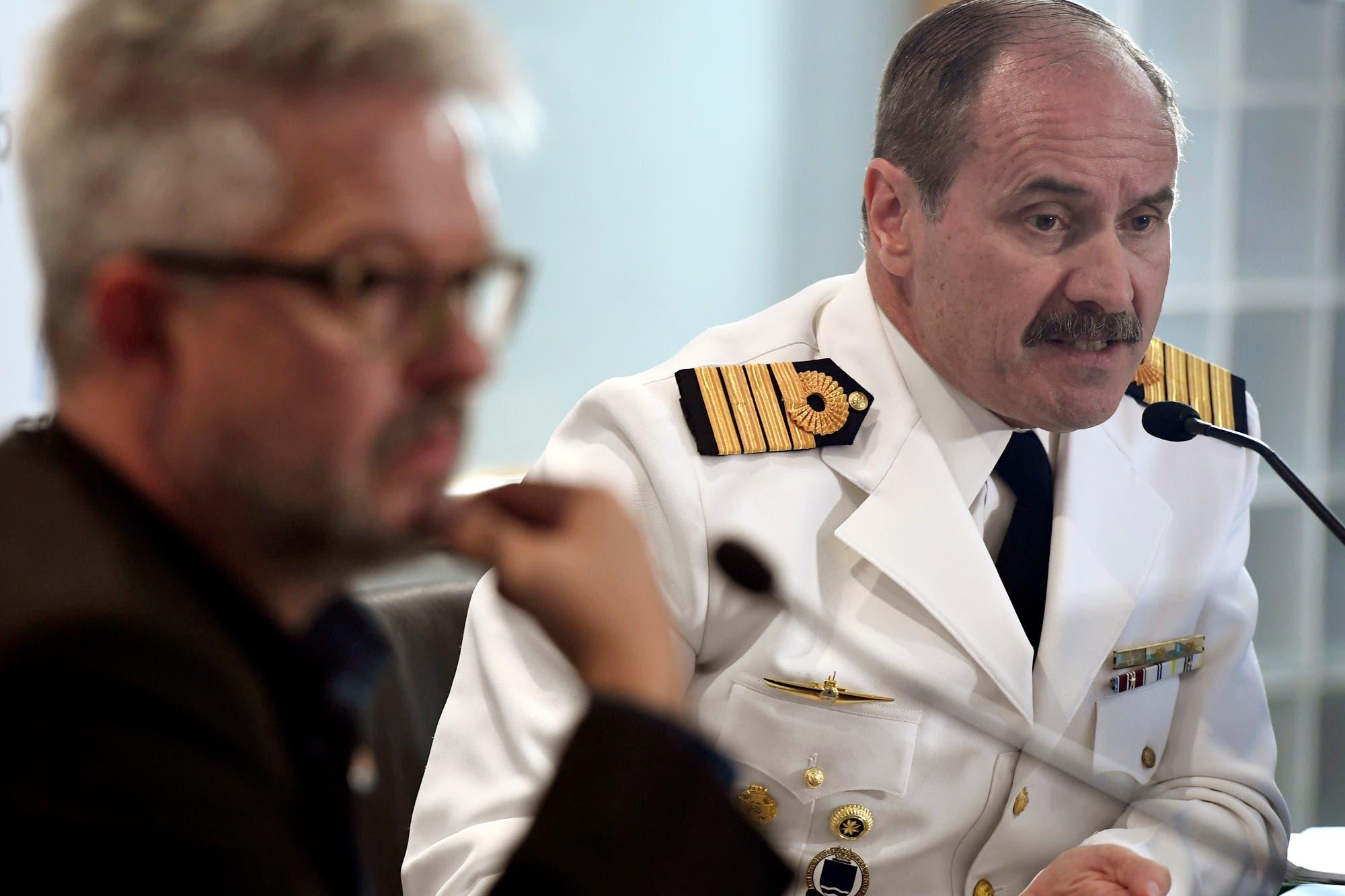 Tenso cruce entre Garré y un exjefe naval por la tragedia del ARA San Juan