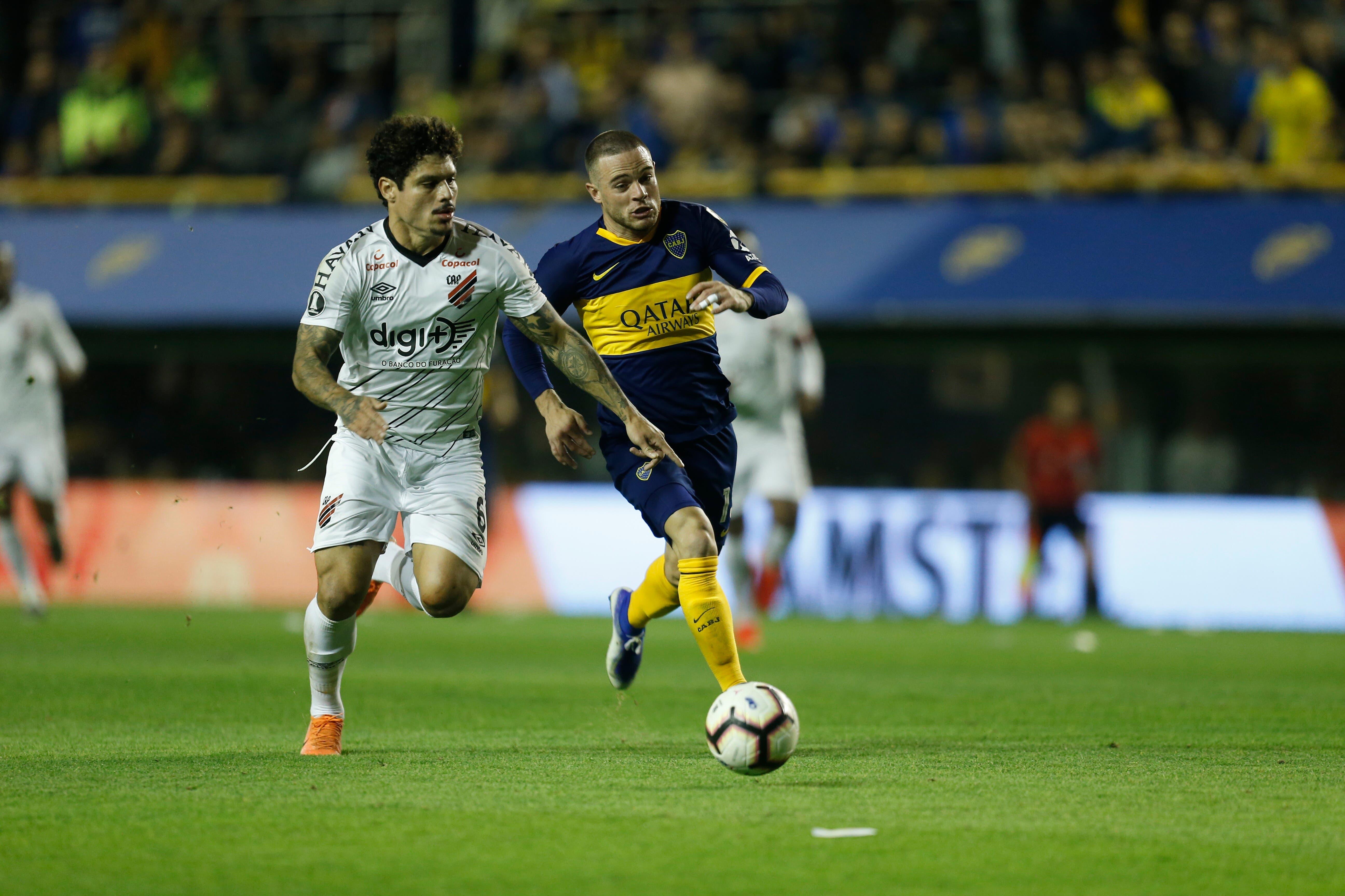 Todos los números de Nandez, el jugador de Boca con más pelotas recuperadas