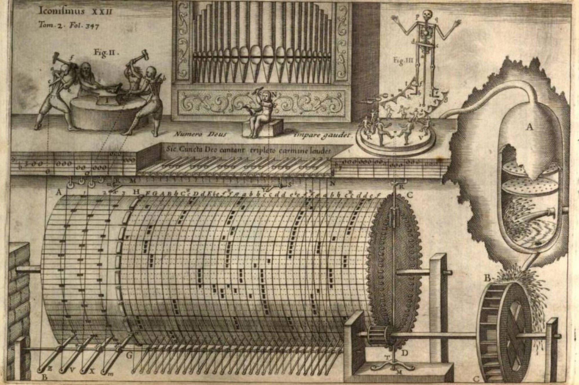 Ingeniosas, complejas y sin inteligencia: así eran las primeras máquinas que nos imitaron