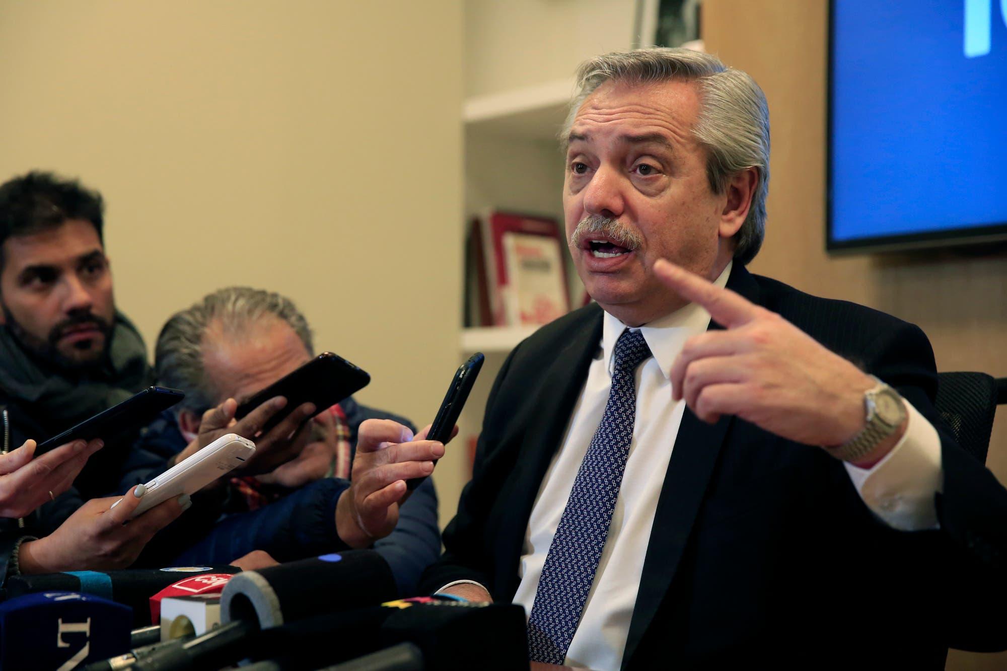 Fernández dijo que la crisis la generaron los que relacionaron el Frente de Todos con Venezuela