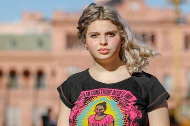 Tinkay Pérez, de 15 años