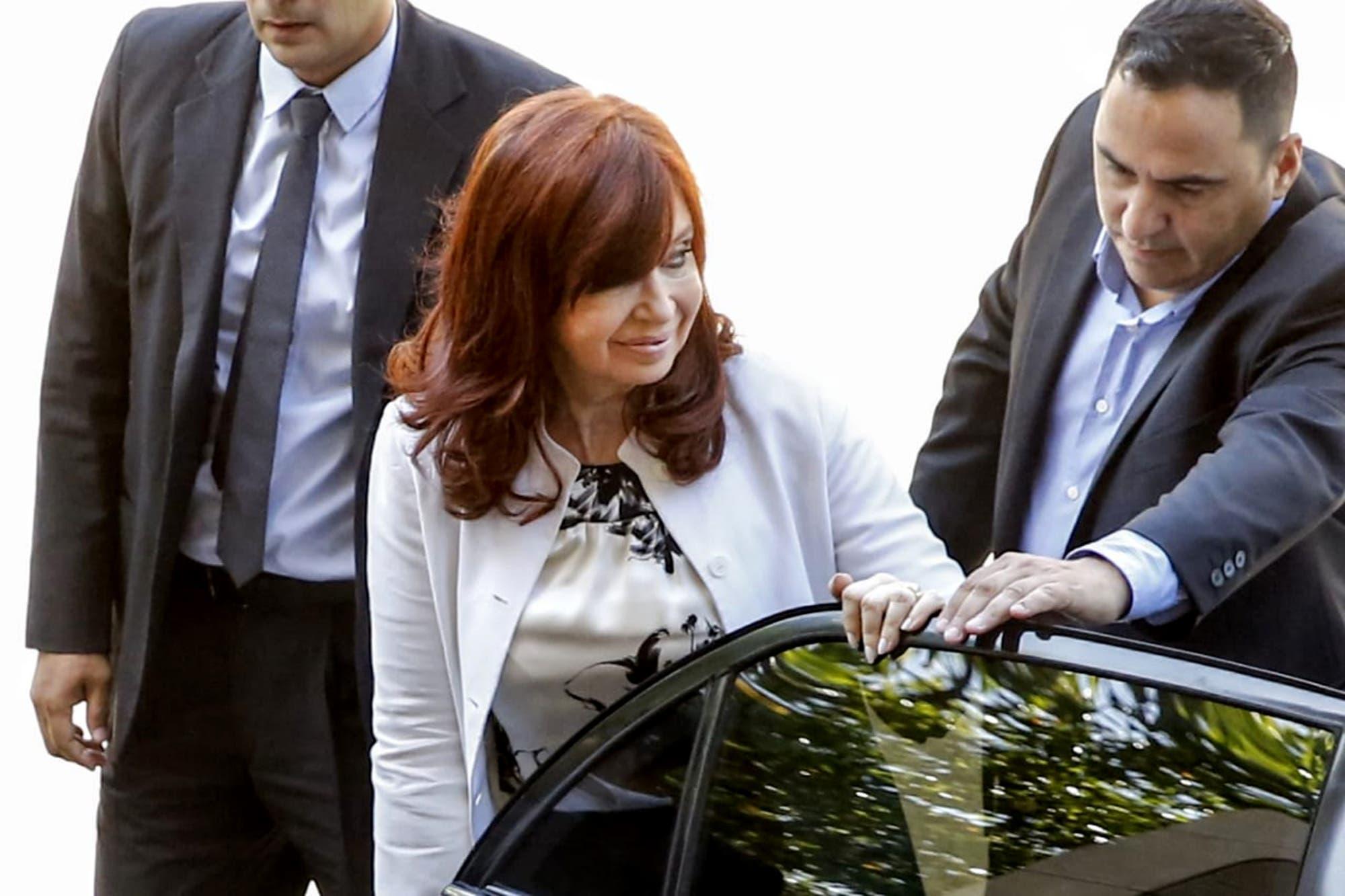 El momento más tenso de la declaración de Cristina Kirchner