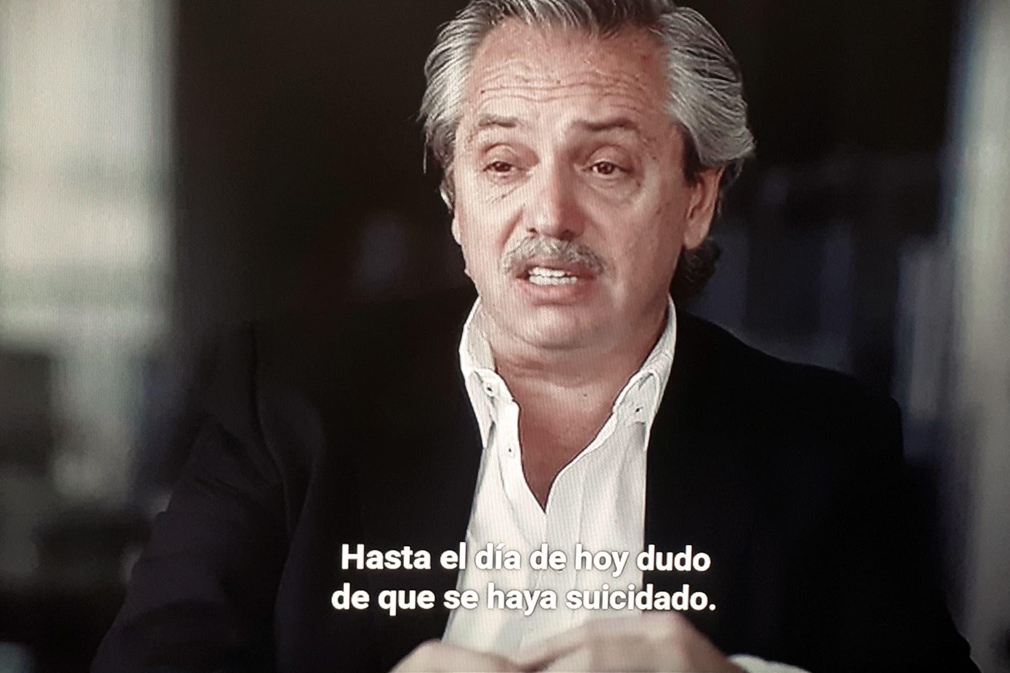 """Alberto Fernández: """"Al día de hoy dudo que Nisman se haya suicidado"""""""