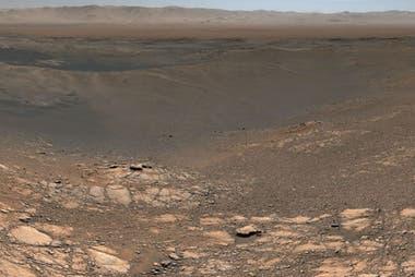 Entre el 24 de noviembre y el 1º de diciembre de 2019, la NASA sacó la foto panorámica de mayor resolución de la superficie de Marte
