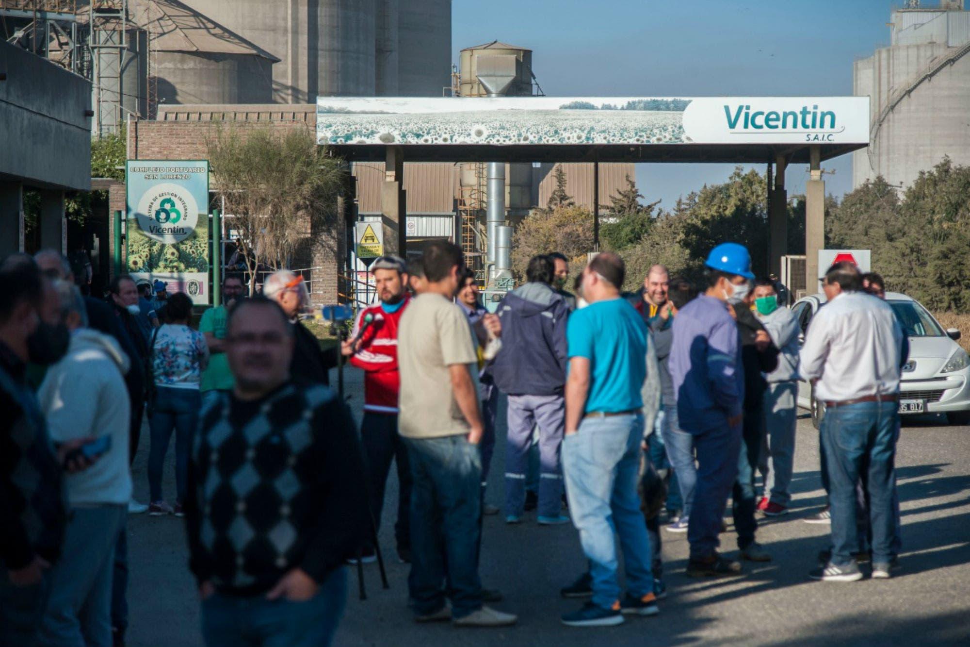 El subinterventor designado viajó a Vicentin, pero no pudo entrar a la empresa
