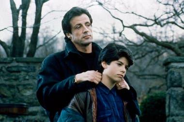 Dolor de padre: Sly junto a su hijo Sage