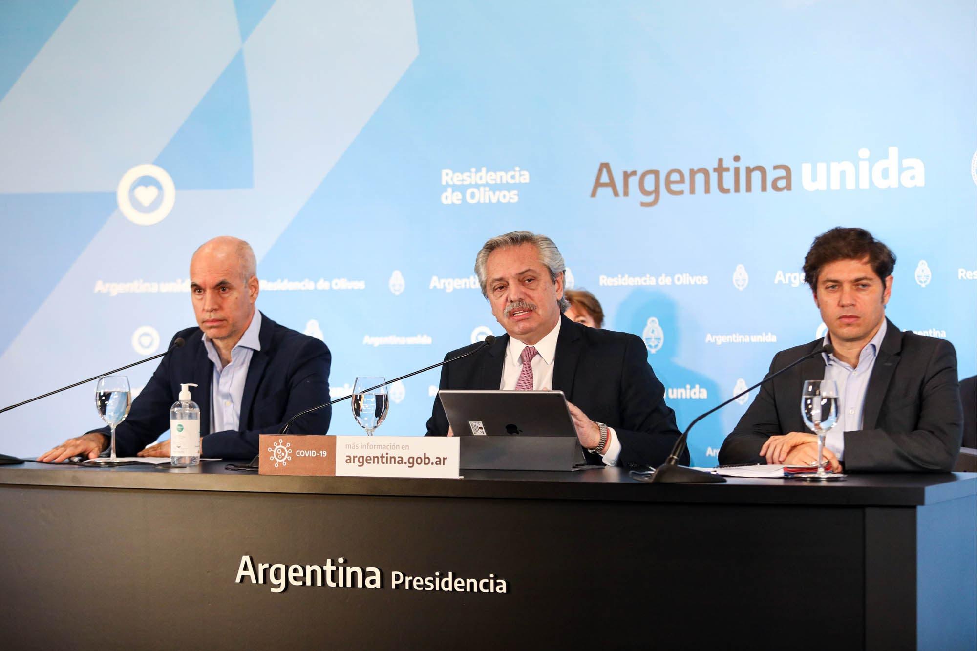 Coronavirus en la Argentina: Alberto Fernández evalúa dejar atrás el ASPO en el área metropolitana