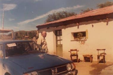 Alfonso Creide, abuelo de Lorena y pionero en la zona.