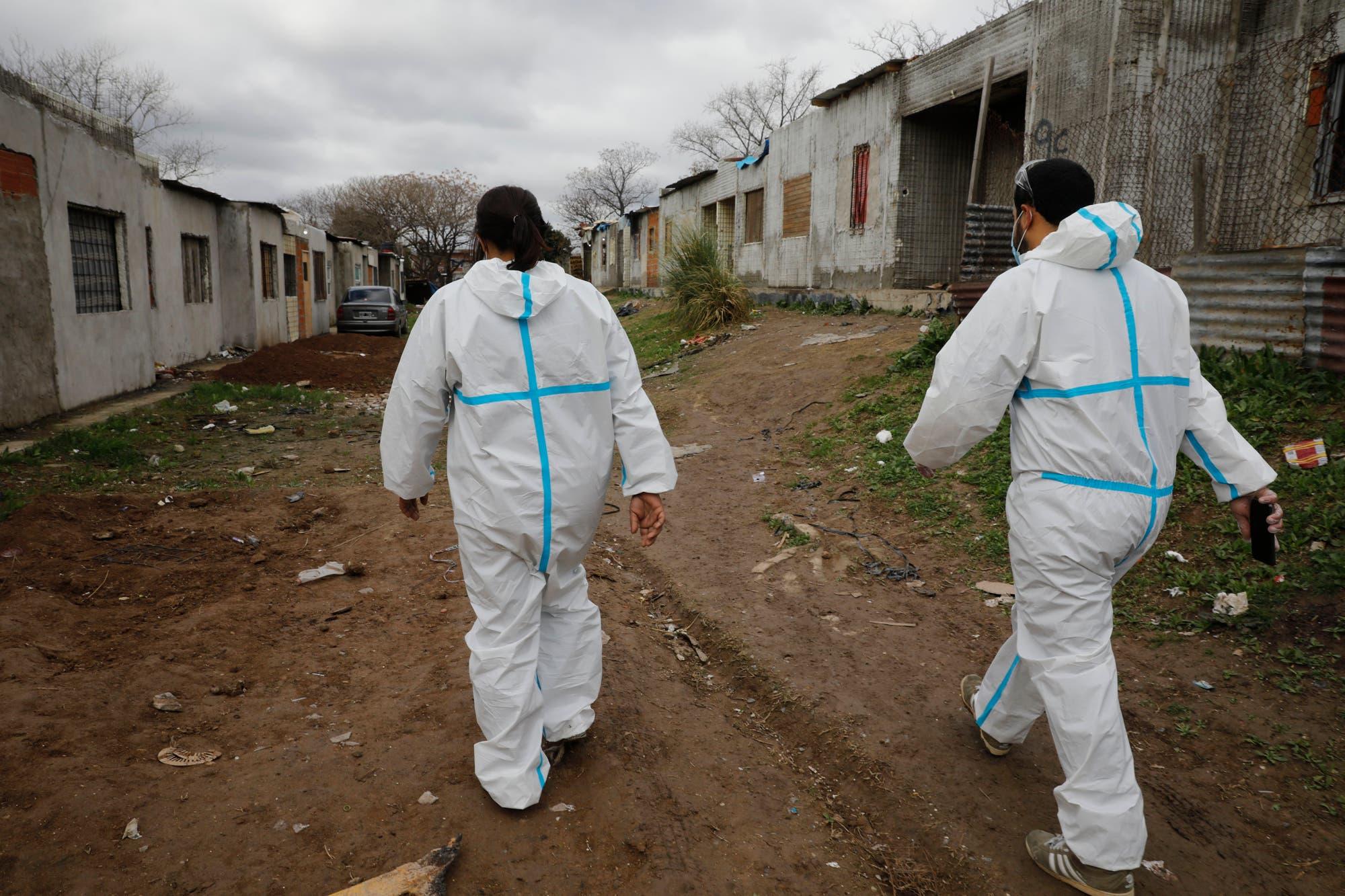 Coronavirus en la Argentina: 105 muertos y 5493 contagios en un día