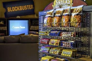 El living de la tienda estará disponible también para los clientes una vez que los huéspedes hayan hecho el check out