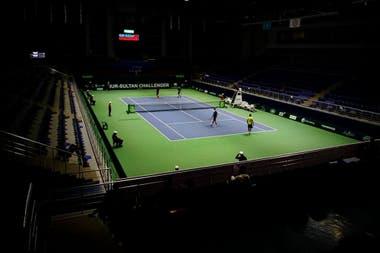 Bajo techo y sobre superficie dura, en Astana, la capital de Kazakhstán, se disputará un nuevo torneo ATP de categoría 250.