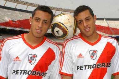 Llegaron a River en 2008: Rogelio debutó el 6/12/09 y Ramiro dos años después, el 5/11/11, en el Nacional B.