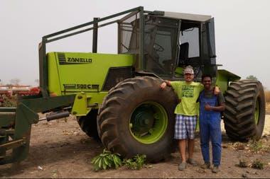 Técnicos argentinos trabajando en Àfrica en la producción de alimentos