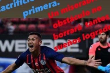 El duro posteo de Coloccini, tras la lesión de Herrera