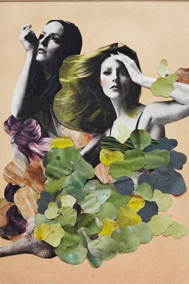 Obra de Delia Cancela en las páginas de Vogue, en 1962