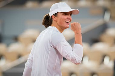 La polaca Iga Swiatek define Roland Garros con la estadounidense Sofia Kenin.