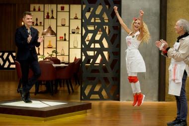 Vicky Xipolitakis logró sorprender a los jurados con cada uno de los platos que presentó en MasterChef Celebrity