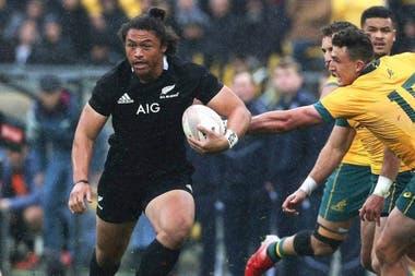 Caleb Clarke, el nuevo acorazado de la flota de los All Blacks; una verdadera potencia que sorprendió al rugby mundial