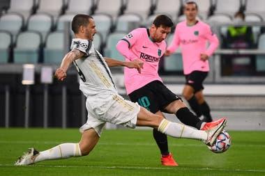 El Barcelona venció 2-0 a la Juventus en el primer partido de la fase de grupos