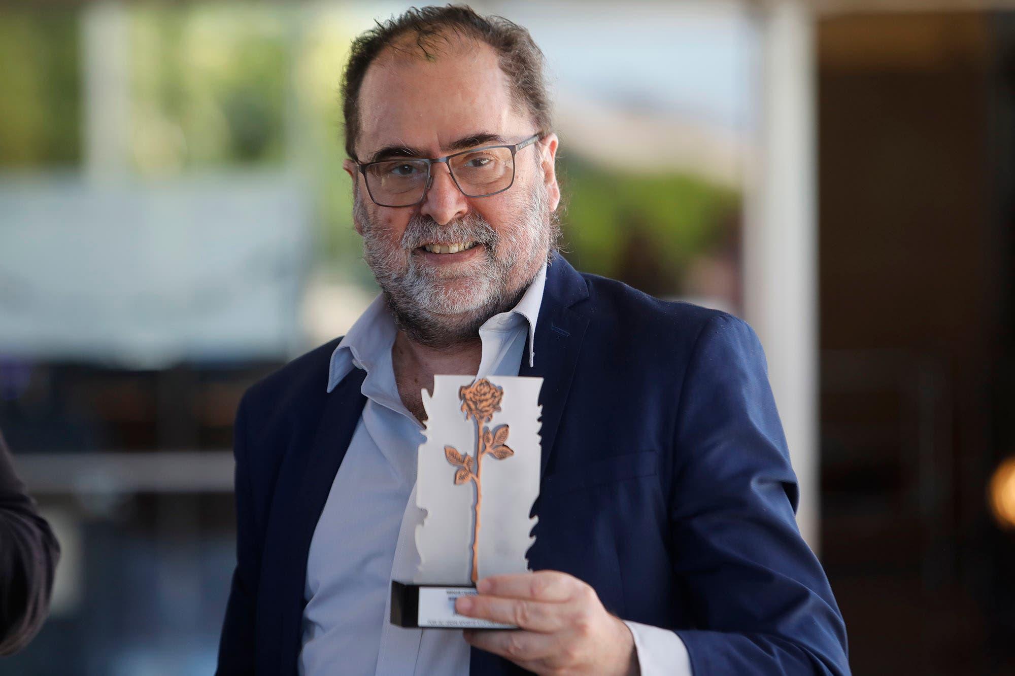 Jorge Coscia fue premiado en la Biblioteca Nacional