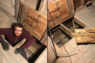 La vivienda fue construida por un conocido contrabandista de la época de la Ley Seca y guardaba un misterio dentro de sus paredes y debajo de sus pisos